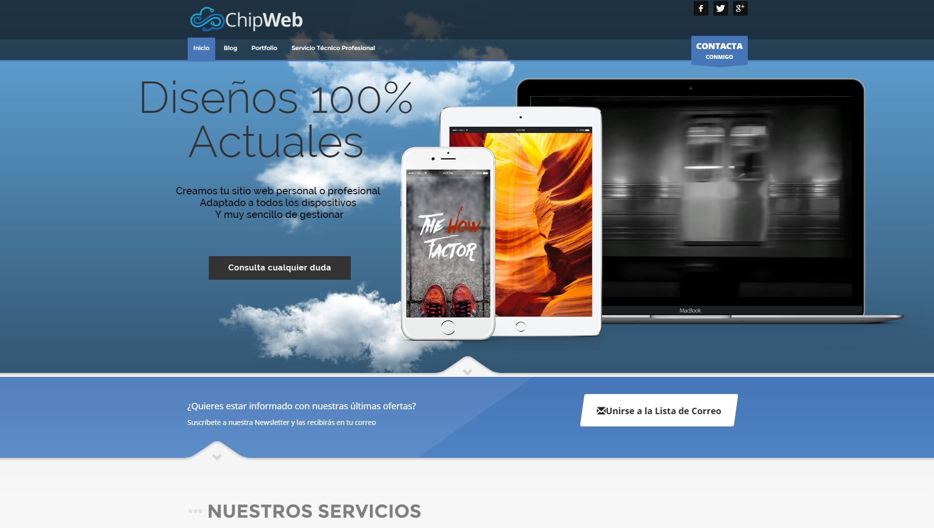 Chipweb ScreenShot
