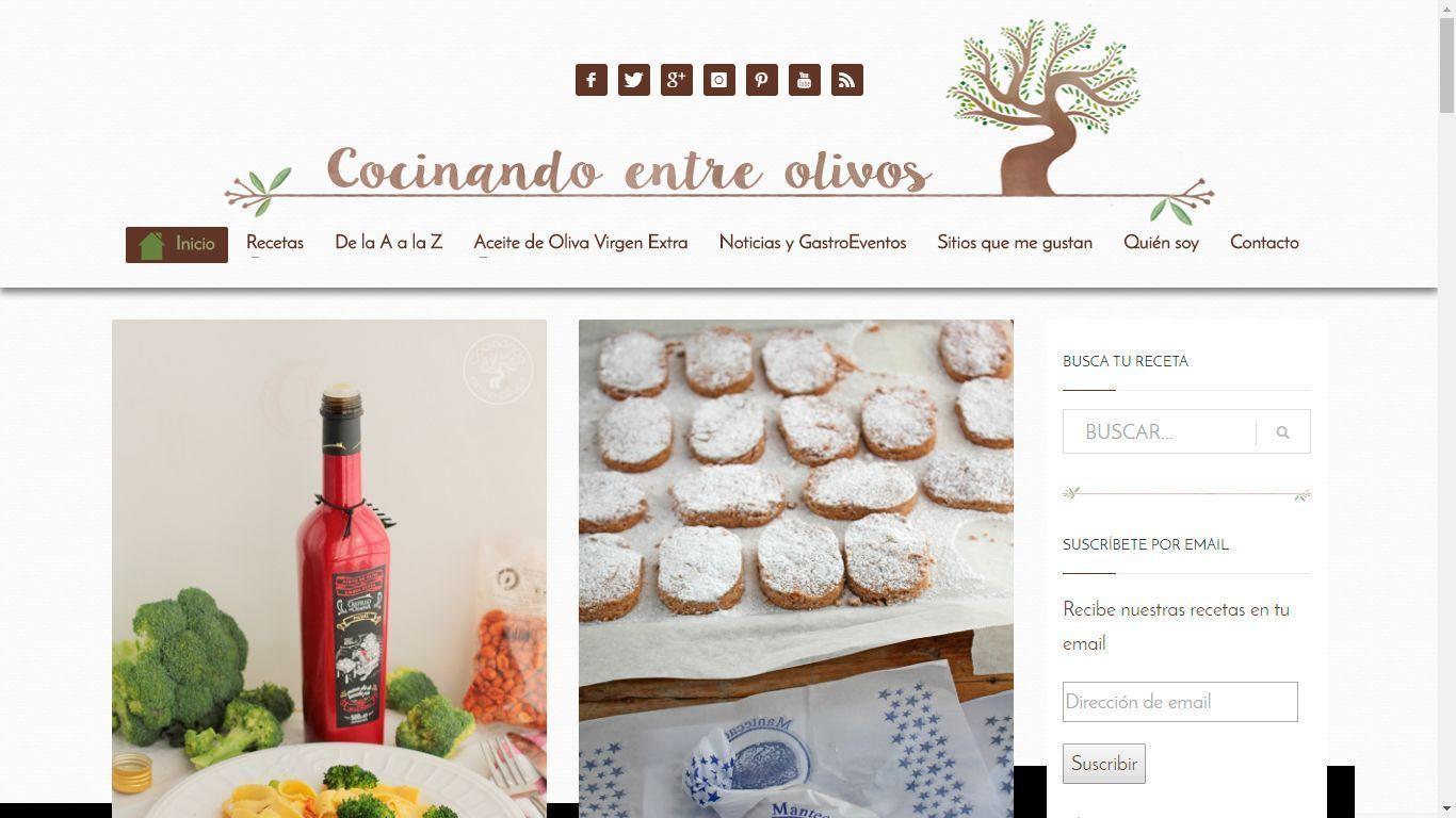 Cocinando entre olivos chipweb dise o web granada for Cocinando entre olivos