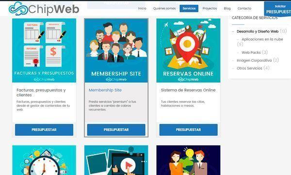 Novedades en chipweb