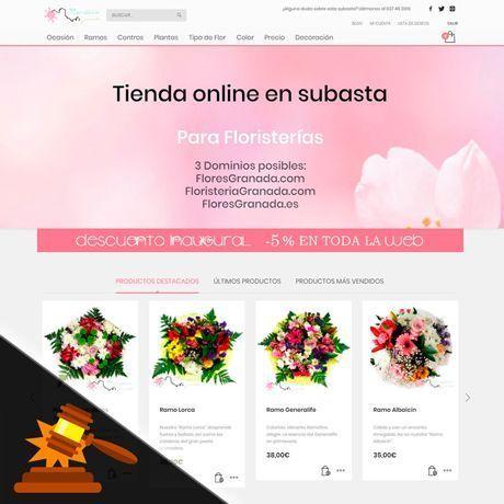 Subasta de Tienda Online