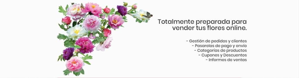 Vende tus flores online
