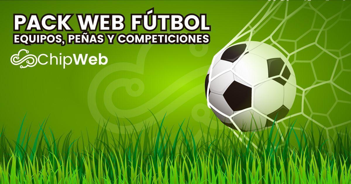 Pack Web Fútbol – Equipos 3eef7f27033f6