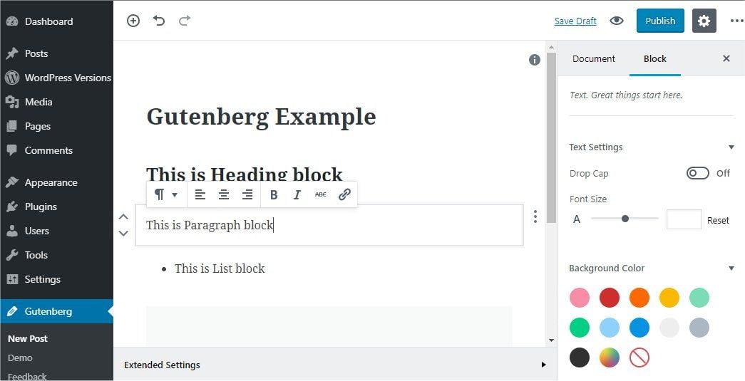 Gutenberg el nuevo editor de WordPress 5.0