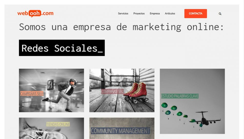 Webooh Agencia de Marketing